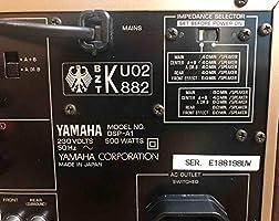 Amazoncom Yamaha Dsp A1 150 Watt Dolby Digital Receiver