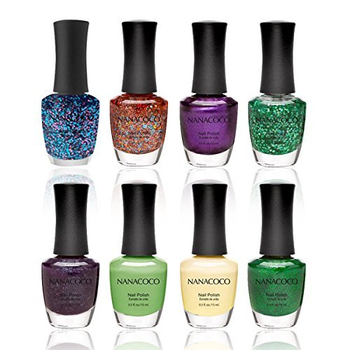 Nanacoco Lacquer 8 Piece Collection Glittery product image