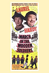 March of the Wooden Soldiers Poster Movie B 27 x 40 In - 69cm x 102cm Stan Laurel Oliver Hardy Charlotte Henry Felix Knight Henry Brandon Florence Roberts