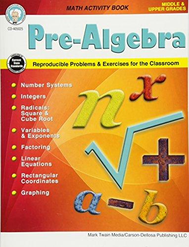 Pre-Algebra, Grades 5 - 12 (Middle/Upper Grades Math Series)