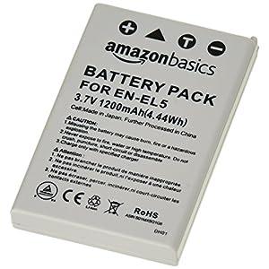 AmazonBasics Li-Ion Battery for Nikon Cameras (EN-EL5)