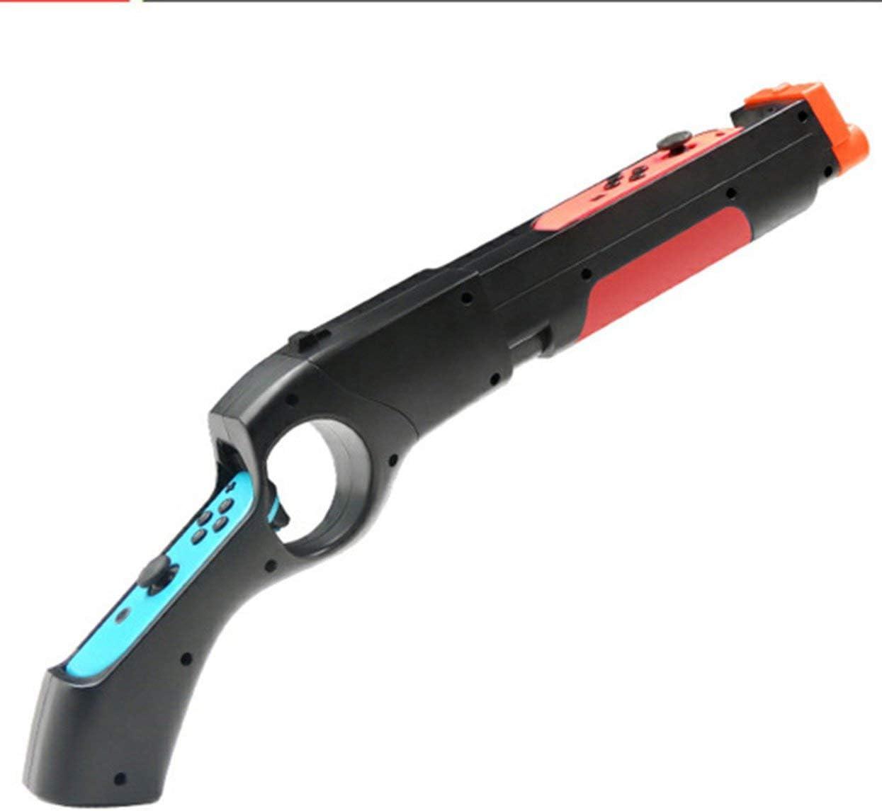 Tree-on-Life Game Gun Compatible con Nintendo Switch Wolfenstein 2 Nintendo Switch Wii Remote Nunchuck Shoot Sport Juegos