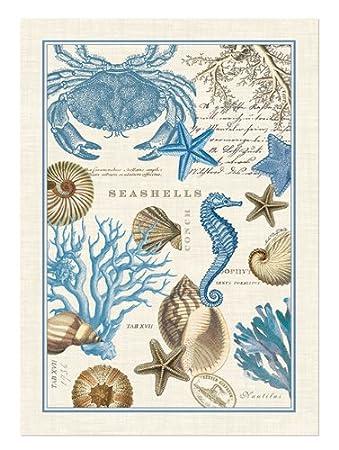 Charming Michel Design Works Seashore Kitchen Towel Part 27