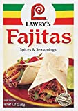 Lawry's Fajita Seasoning Mix,1.27 Ounce (Pack of 12)