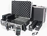 Williams Sound DWS TGS 23 300 Digi-Wave Tour Guide System 23 (1-way); Single-presenter/multiple-listener system; Frequency-hopping technology subject to less interference