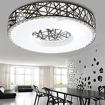TYDXSD 490mm de luz regulable LED luz nido hueco acero ...