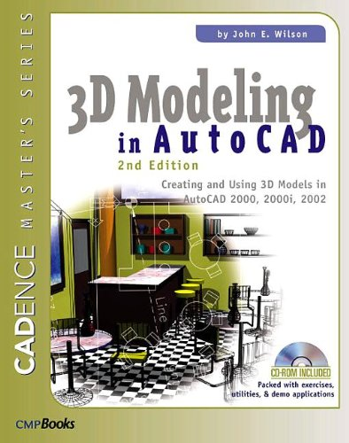 3D Modeling In Autocad  Second Edition