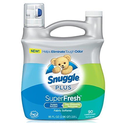 Snuggle Plus Super Fresh Fabric Softener Liquid with Odor El