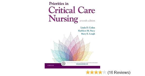 Priorities in Critical Care Nursing: 9780323320856: Medicine