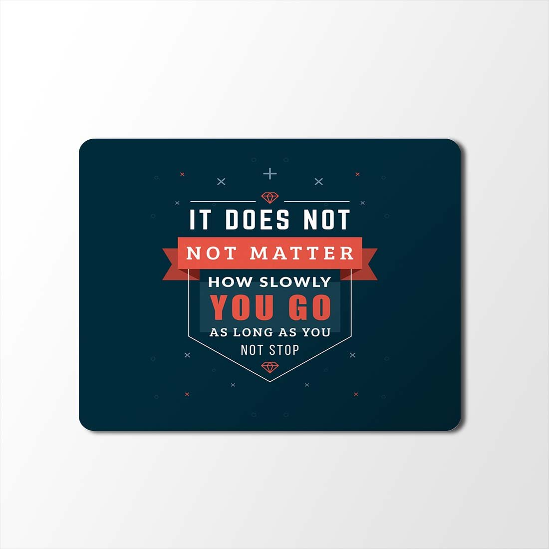 100yellow Mouse Pad | Motivational Quotes Designer Mouse Pad | Designer Waterproof Coating Gaming Mouse Pad