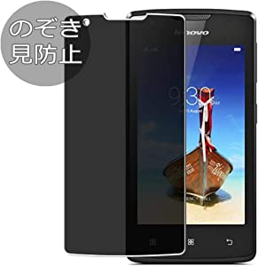 Synvy Privacy Screen Protector Film for Lenovo A1000 Anti Spy Protective Protectors [Not Tempered Glass]