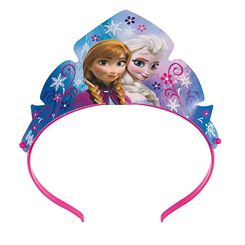 [Disney Frozen Paper Tiara Party Favors, 3ct] (Anna Costume Ideas)