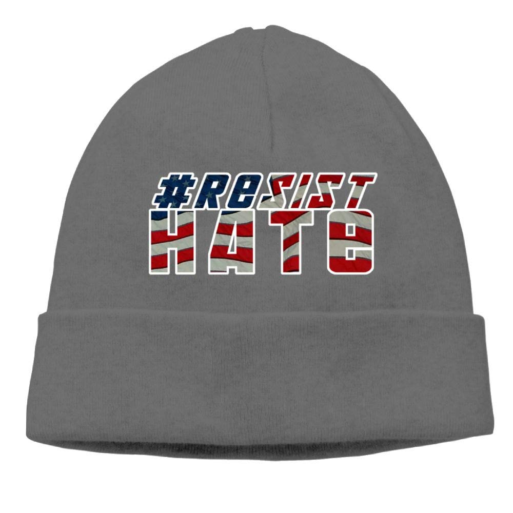 Michgton Resist Hate 2 Beanie Hat Ski Caps Unisex