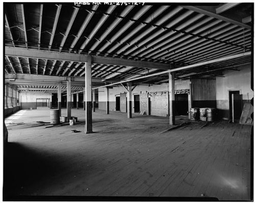 HistoricalFindings Photo: Fisher Body Company Plant,1961 East Milwaukee Avenue,Detroit,Michigan,MI,HABS,6