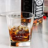 Personalized Libbey Double Rocks, Whisky Old Fashioned Glass