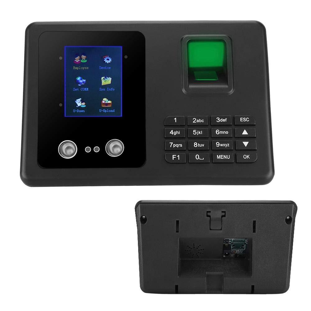 Eu Macchina per la rilevazione delle impronte digitali per il check-in degli impiegati della macchina per la rilevazione delle impronte digitali biometrica intelligente display LCD DC Orologio