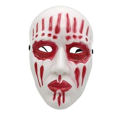 DLDL Máscara de Halloween de Terror Accesorios de Miedo Fiesta del Partido Cosplay Cara Llena Banda