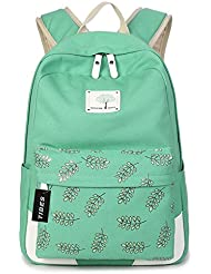 Tibes Large Capacity Canvas Laptop Backpack for Girls/Women