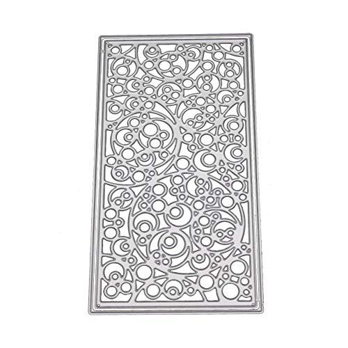 (SERYU New Flower Heart Metal Cutting Dies Stencils DIY Scrapbooking Album Paper Card )