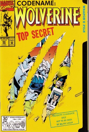 Codename Wolverine Top Secret #50 (Code Name Wolverine, 50)