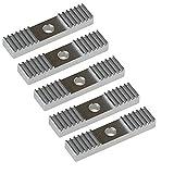 Mercurry 5pcs 2GT Timing Belt Aluminum Gear Clamp Mount Block Pack
