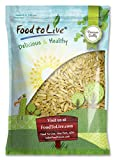 Food to Live ALMONDS (Slivered, Blanched, Kosher) (8 Pounds)
