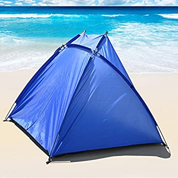 BenefitUSA Portable Beach Shelter Sun Shade Canopy C&ing Fishing Beach Tent Outdoor Sport & Amazon.com: BenefitUSA Portable Beach Shelter Sun Shade Canopy ...