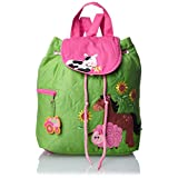 Stephen Joseph Little Girls' Quilted Backpack, Farm, One Size