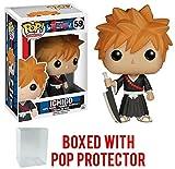 Funko Pop! Anime: Bleach - Ichigo Vinyl Figure (Bundled with Pop Box Protector Case)