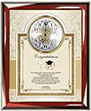 Medical School Graduate Doctor Physician Personalized Poetry Gift Frame Plaque Custom Poem Wall Clock Medicine Graduation Gift Osteopathic Present