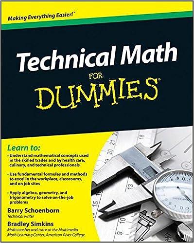 Technical math for dummies barry schoenborn bradley simkins technical math for dummies 1st edition fandeluxe Images