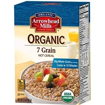 Amazon arrowhead mills organic seven grain cereal 22 oz pack arrowhead mills organic seven grain cereal 22 oz pack of 12 ccuart Choice Image