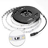 LE  16.4ft 12V Flexible LED Strip Lights, Blue, 82 Lumens / 1.5 Watts per foot, 300 Units 3528 LEDs, Non-waterproof, Light Strips, LED Tape