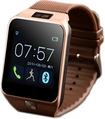 DZ09 Smartwatch bluetooth camera built-in support SIM card and support SD card 32Gb (Gold) by DZ09