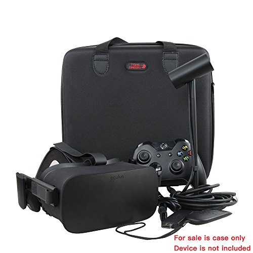Large Product Image of Hard EVA Travel Case for Oculus Rift VR - Virtual Reality Headset by Hermitshell