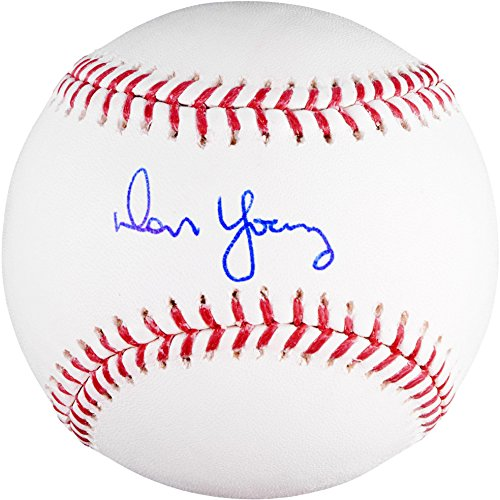 Don Young Autographed Baseball - Fanatics Authentic Certified - Autographed Baseballs