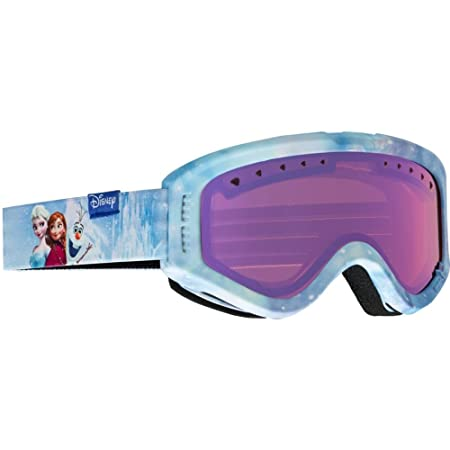 Anon Tracker Asian Fit Goggle, Coral Frame Amber Lens