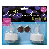 Decorative LED Tea Light Candles, Case of 144