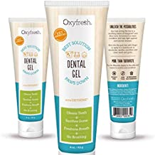 Oxyfresh Dental No Brush Gel – Fresh Breath and Healthy Teeth and Gums for Dogs and Cats – Fast-acting - Formulated to Clean, Condition and Deodorize and Freshen Breath