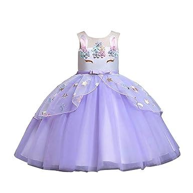 Kehen- Vestido de Flores para niñas, Elegante Vestido para niña ...