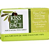 Search : Kiss My Face Bar Soap - Pure Olive Oil - Travel Size - Pack Of 12 - 1.41 Oz