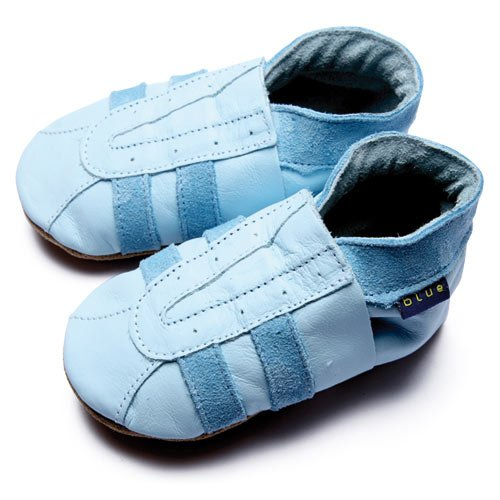 Inch Blue, Mädchen Babyschuhe - Krabbelschuhe & Puschen  Blau 20-22 cm