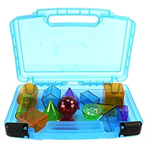 Learning Resources Toys Case, Toy Storage Carrying Box. Figures Playset Organizer. Accessories For Kids by LMB
