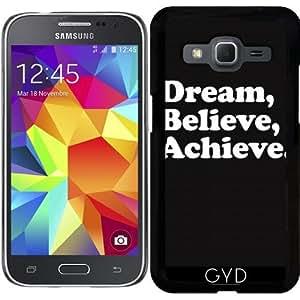 Funda para Samsung Galaxy Core Prime (SM-G360) - Sueña, Cree, Alcanza by wamdesign