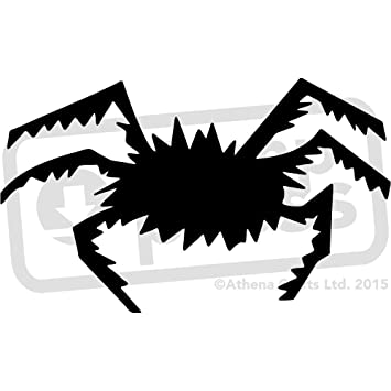 amazon com a5 halloween spider wall stencil template ws00002344