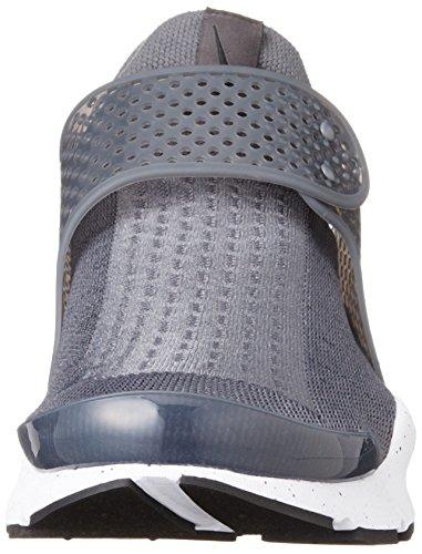 blanc Homme Gris Dart Sock rose Loup Chaussures gris Pour Course Nike De Loup cwpffSyKP
