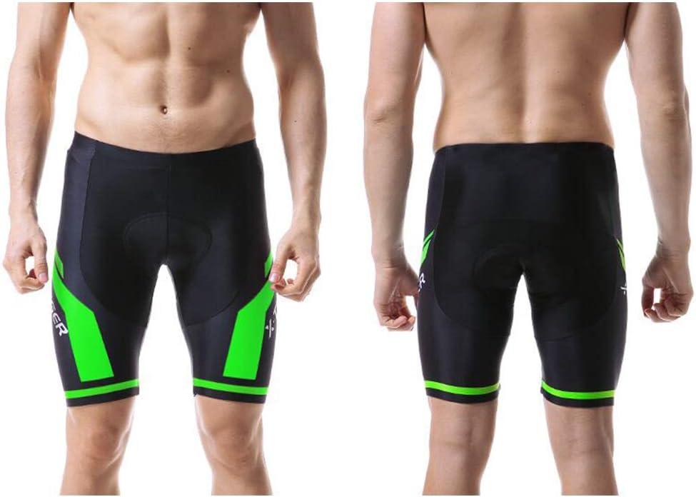 d.Stil Cuissard de Cyclisme pour Homme avec Rembourrage 3D et s/échage Rapide /élastique