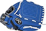 """Rawlings  Players Series Gloves, 10.5"""", Right Hand, Blue/Black/Grey"""