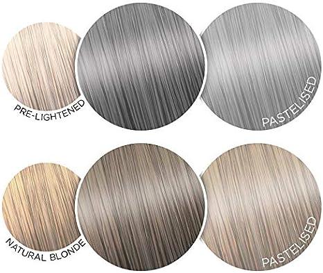 Colour-Freedom - Tinte lavable para el cabello Storm Grey XL ultravibrante, 150 ml