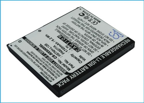 VINTRONS Battery for HP Compaq iPAQ rx5775, 3.7V, 1700mAh, Li-ion